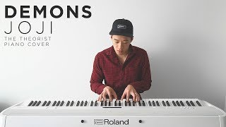 Joji Demons The Theorist Piano Cover