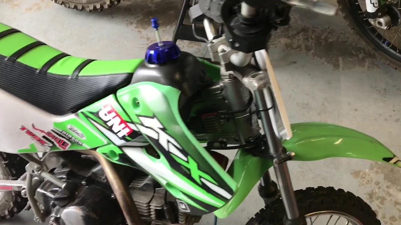 Drz110 Wiring Diagram Schematic Diagrams How To Install A Light Bar On 2008 Klx110 Youtube Drz 110 Specifications
