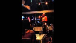 Awesome Sam Smith karaoke singer