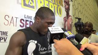 andre berto syas he know he will beat floyd mayweather - EsNews