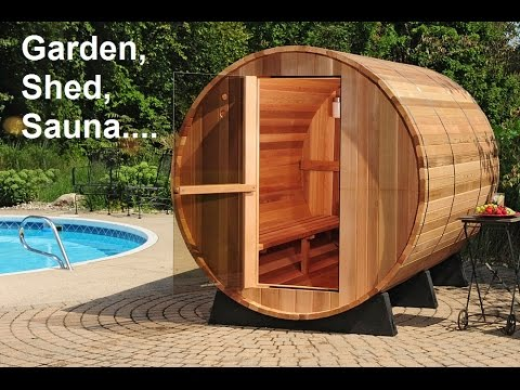 how build sauna in 1 minute transformation lawn to sauna. Black Bedroom Furniture Sets. Home Design Ideas