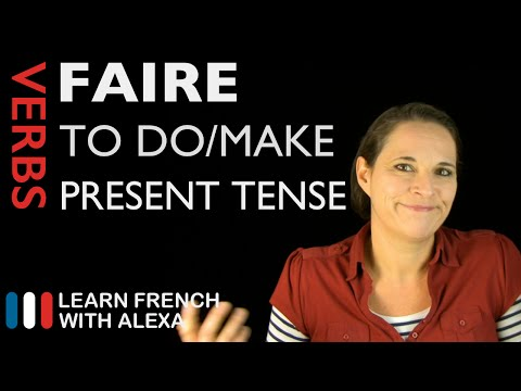 To use verbs in french conjugate irregular ireland
