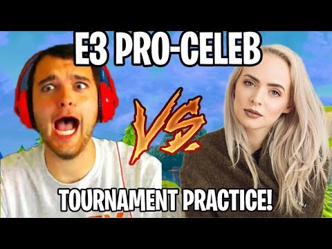 $3,000,000 CHARITY TOURNAMENT PRACTICE w/ Madilyn Bailey (Fortnite Battle Royale)