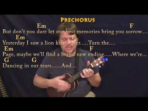 Lost Stars (Adam Levine) Ukulele Cover Lesson in C with Chords/Lyrics