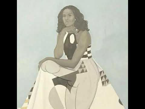 Michelle Obama Portrait Meme