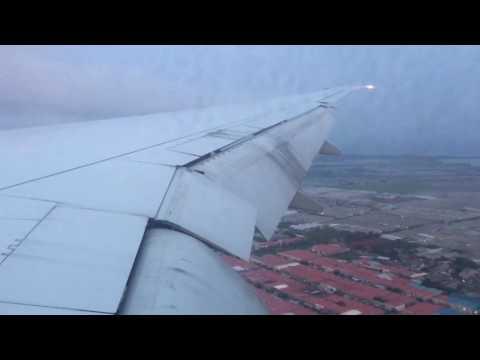 Emirates Landing at Soekarnohatta International Airport