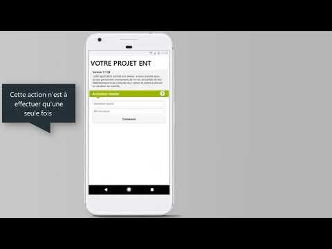Installer l'application MonBureauNumérique sur mon Smartphone