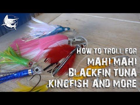 The Easiest Spread For Trolling - Trolling For Mahi Mahi, Tuna And Kingfish - Fishing How To