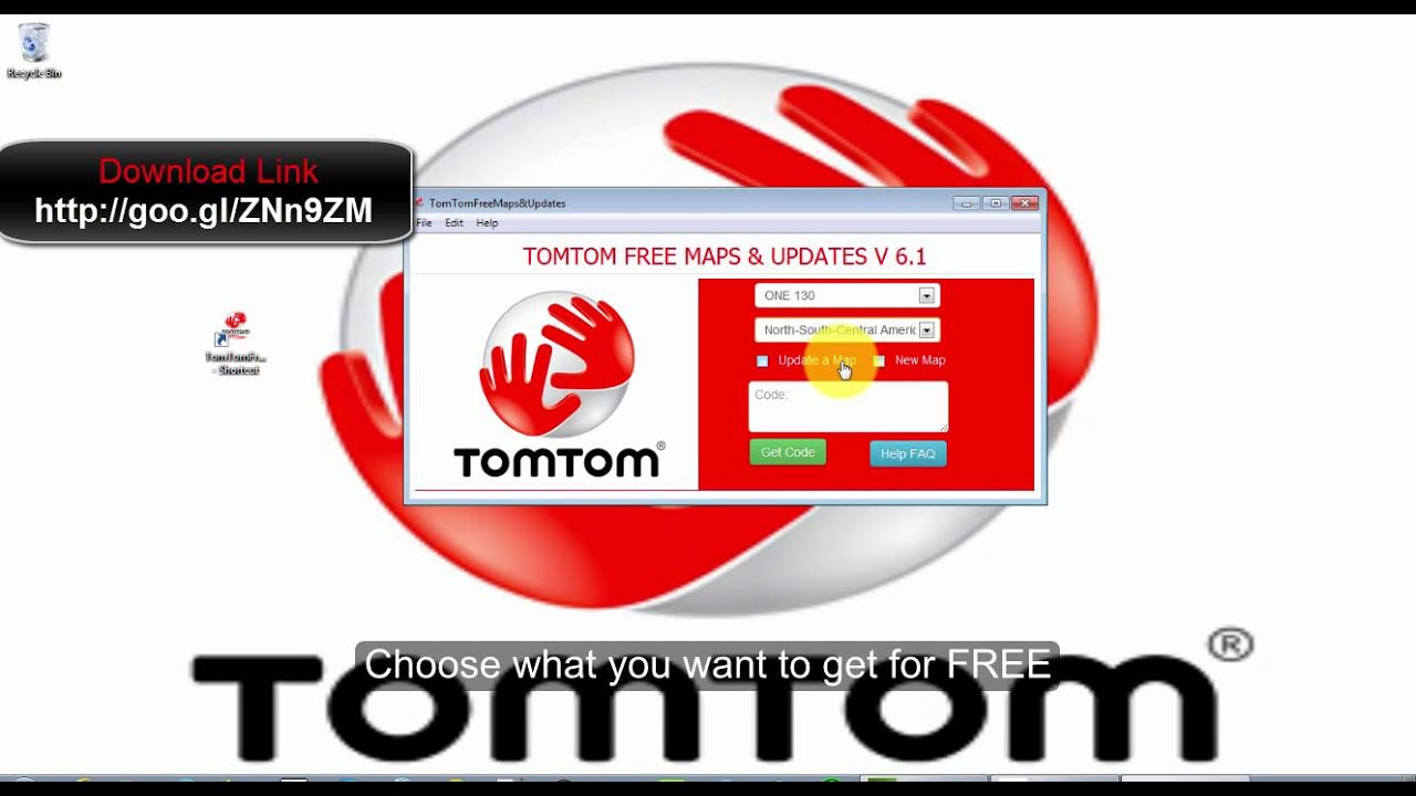 Updating Tomtom Free