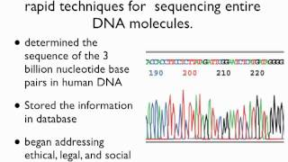 DNA analysis Part I. Genomic Sequencing