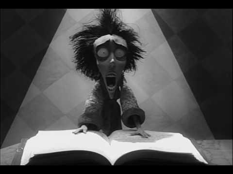 Tim Burton's Vincent featuring Edgar Allan Poe's The Raven 720p HD