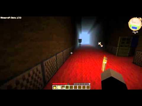 minecraft  บ้านผีสิง 2