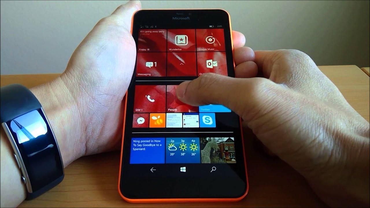 Windows phone 8 1 vs windows 10 mobile on lumia 640 xl for Window 640 xl