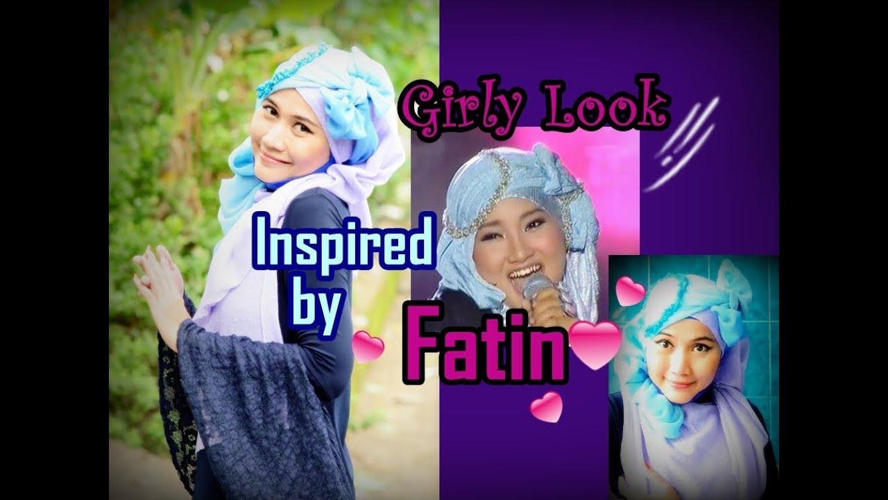 Tutorial Hijab Paris Ala Fatin X FactorTutorial Hijab Versi Gambar
