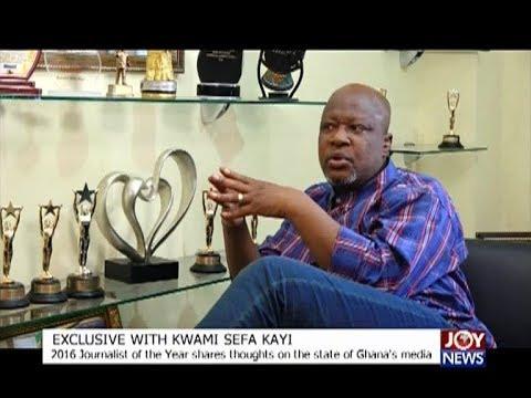 Exclusive with Kwami Sefa Kayi - The Pulse on JoyNews (26-12-17)