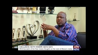 Exclusive with Kwami Sefa Kayi - The Pulse on JoyNews (26-12-17)