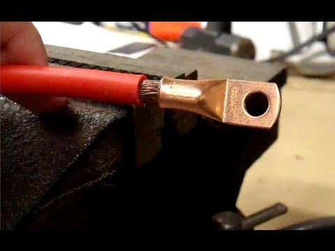 How To Make Battery Cables The Right Way And The Easy Way