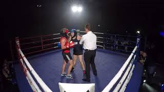 Ultra White Collar Boxing | Walsall | Emily Constantine VS Hattie