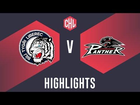 Highlights: Bílí Tygři Liberec Vs. Augsburger Panther