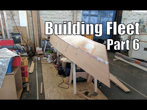 Building Fleet, a small wooden boat #6