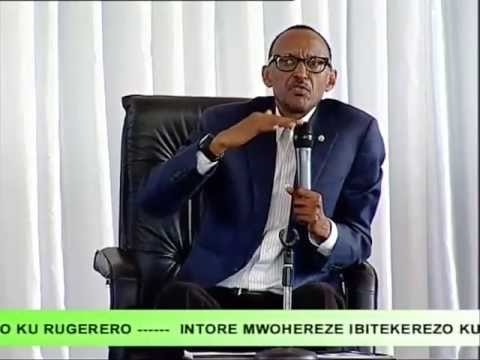 Meet the President -- Over 2500 Rwandan Youth Meet President