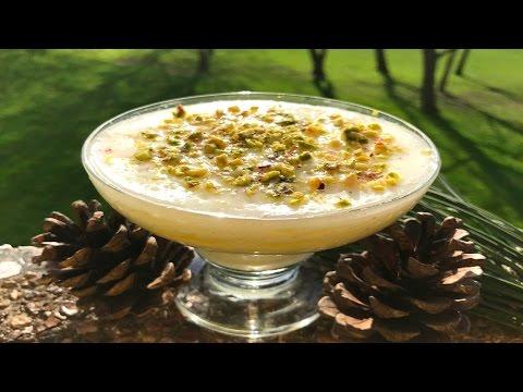 Ashtalieh - Lebanese Cream Pudding - طريقة تحضير القشطلية السهلة