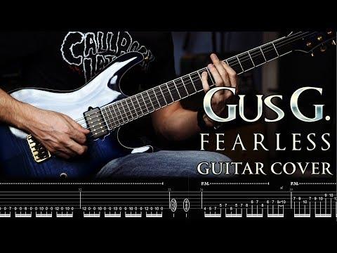 GUS G. - FEARLESS // Guitar Cover By George Mylonas w/ TAB