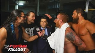 The Social Outcasts take over the backstage area: Raw Fallout, January 4, 2016