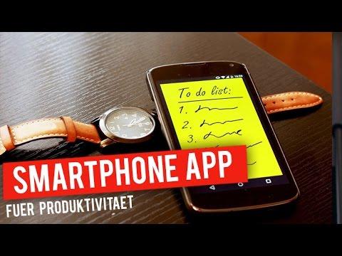 Welche Smartphone App ich für höchste Produktivität empfehle