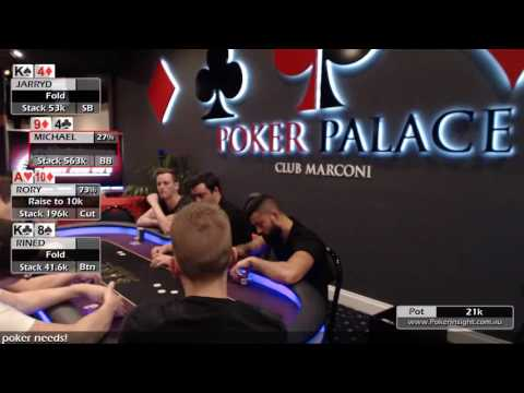 2016 Poker Palace Championships High Roller Event Day 2 part 2