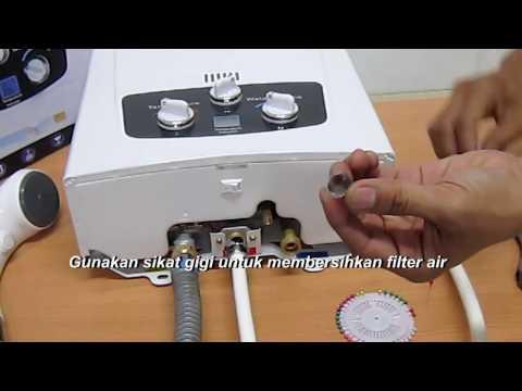 blue gaz - Gas Water Heater Tidak Panas atau Api Mati