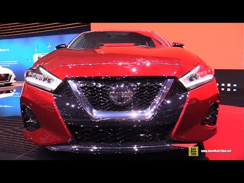 2019 Nissan Maxima Platinum - Exterior and Interior Walkaround - 2018 LA Auto Show