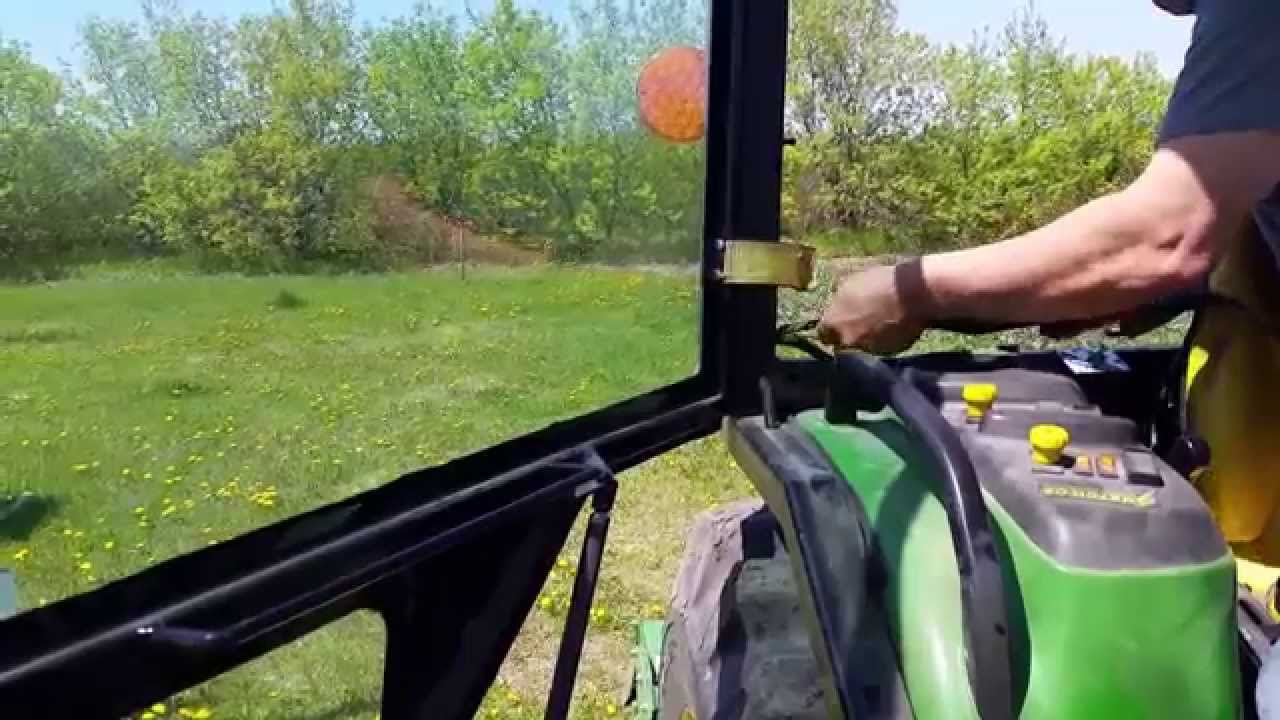Homemade Tractor Cab Part 3 YouTube