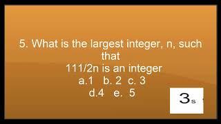 mensa iq challenge iq test 10 question