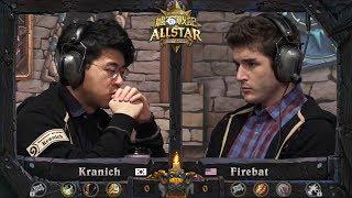 [爐石戰記] Kranich vs Firebat | 全場 | 全明星賽四分之一决赛 | HearthStone 2017 All-Star Invitational Quarterfinal