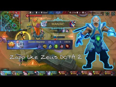 IS EUDORA DAUGHTER OF ZEUS DOTA 2 ? | MOBILE LEGENDS • EUDORA'S GAMEPLAY