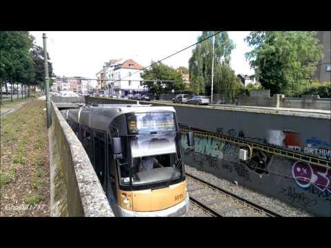 Brussels tram/pre-metro // Брюссельский трамвай и пре-метро