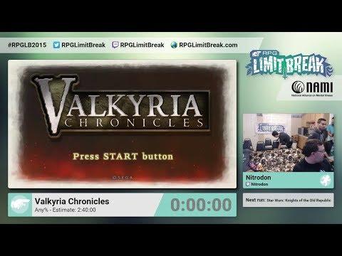 Valkyria Chronicles by Nitrodon RPG Limit Break 2015 Part 7