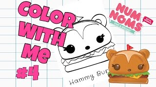 NUM NOMS HAMMY BURGER COLOR WITH ME #4 |SUPERKOOLKIDZKOLOR |SUPERKOOLKIDZTV