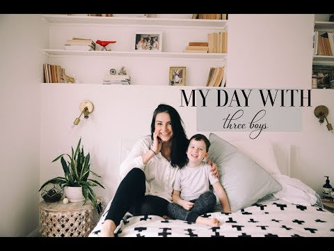 A DAY IN THE LIFE of a Mom With Three Kids, All Boys