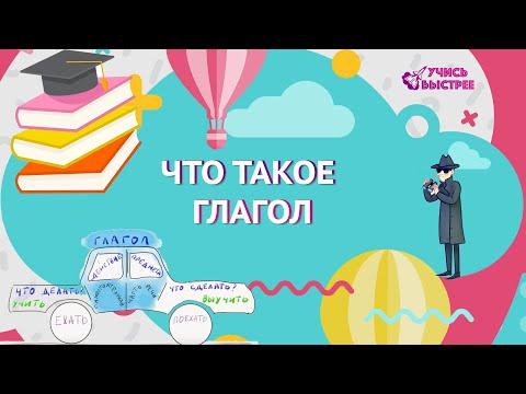 Глагол видеоурок 3 класс