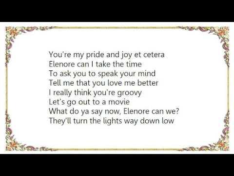 Boy Wonder - Elenore Lyrics