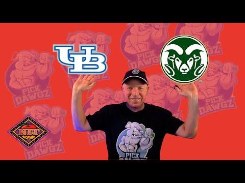 Colorado State vs Buffalo 3/19/21 Free College Basketball Pick and Prediction NIT Tournament