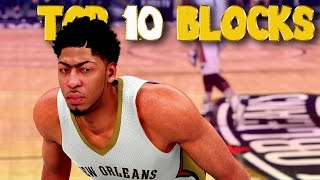 NBA 2K16 Top 10 Meanest Blocks & Rejections Of The Week