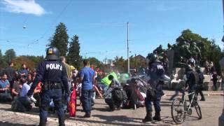 Bern: Brutaler Polizeieinsatz gegen kurdische Demo 12. Sept 2015