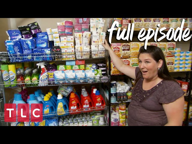 Coupons Got Her a Grocery Stockpile!   Extreme Couponing (Full Episode)