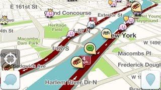 видео Навигатор Waze