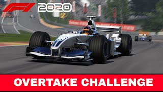 F1 2020   WILLIAMS FW25   Overtake Challenge   Spa-Francorchamps