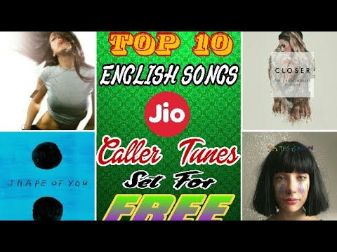 Top 10 English Songs Caller tune || You can set as jiotune for free | Only for Jio users