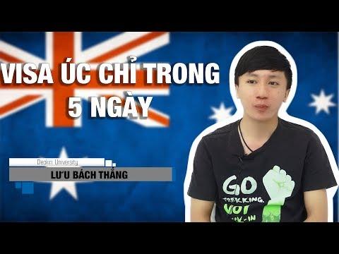 Du học Úc - VISA Úc chỉ trong 5 ngày.